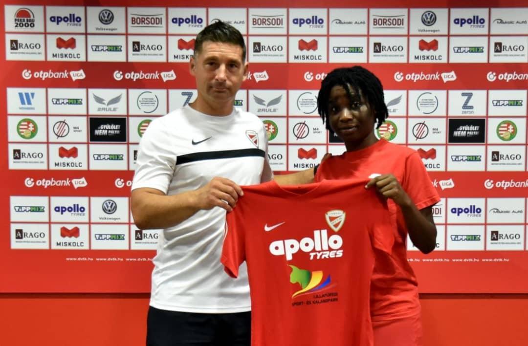 OFFICIAL: Hasaacas Ladies defender Regina Antwi joins Hungarian side Diósgyőri VTK