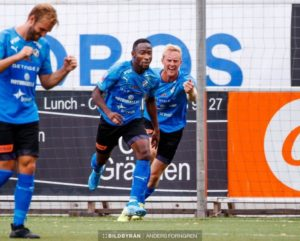 Ghanaian forward Sadat Karim elated to score winning goal for Halmstads BK