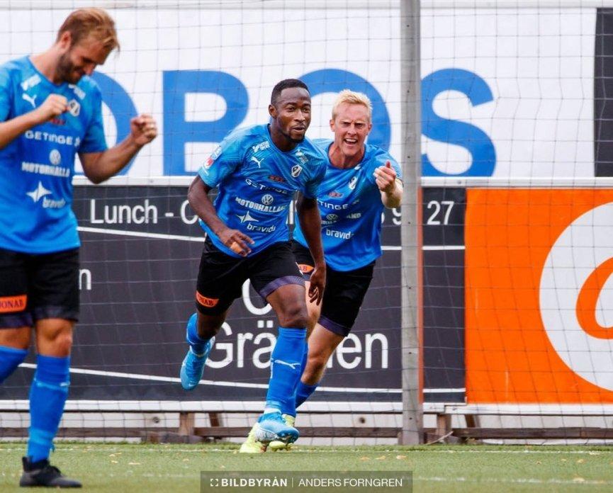 Ghanaian forward Sadat Karim elated to score winning goal for Halmstads BK