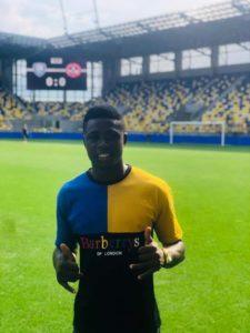 Slovakian side DAC 1904 sign Ghanaian striker Ernest Boateng from Vision FC