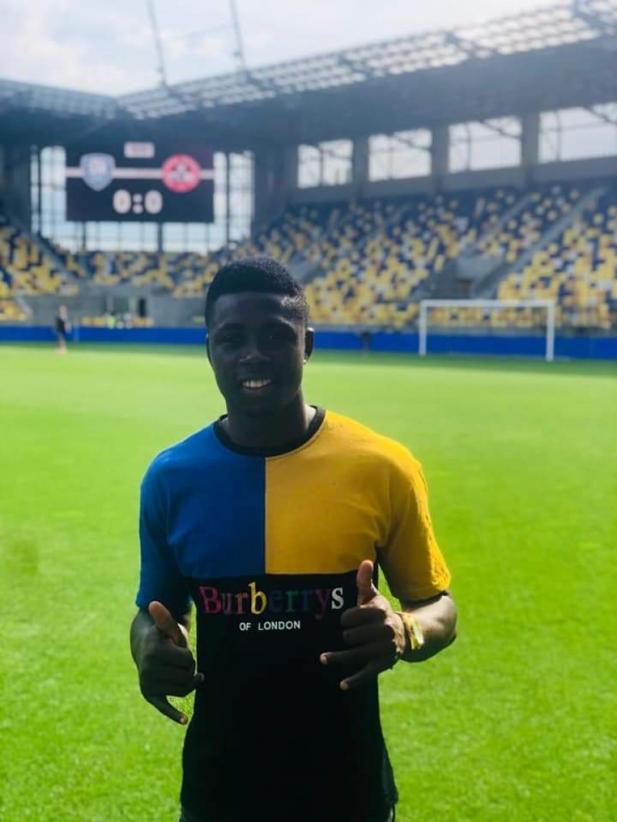 Slovakian side DAC 1904 sign Ghanaian striker Ernest Boateng from Vision FC