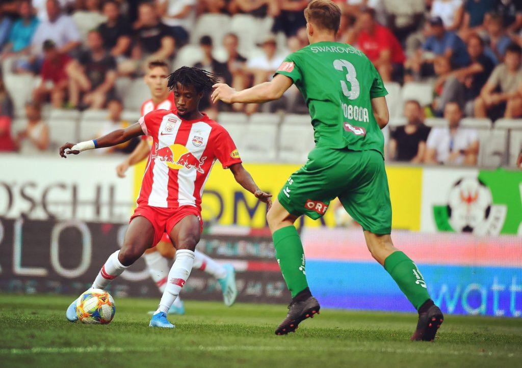 RB Salzburg midfielder Ashimeru not surprised by 2019 Afcon snub