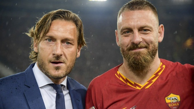 Totti could watch De Rossi in Boca Juniors-River Plate clash