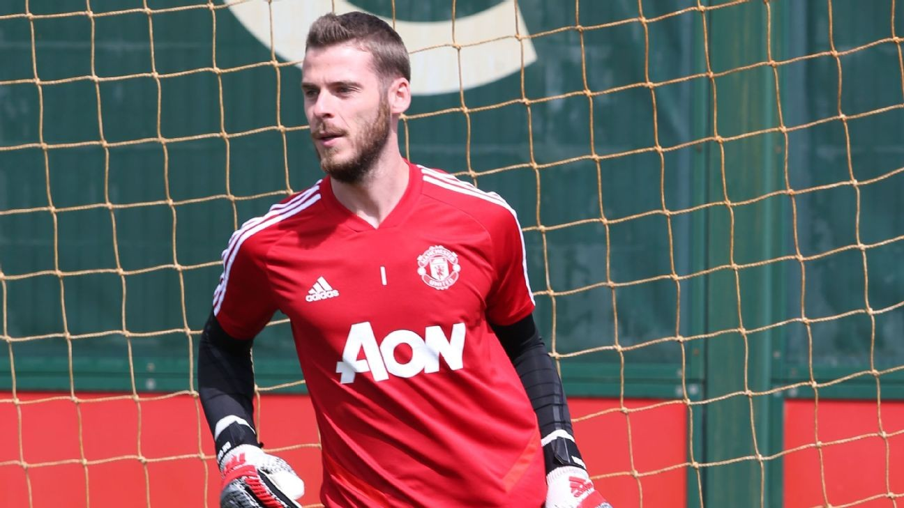 Solskjaer confident over new Utd deal for De Gea