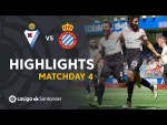Highlights SD Eibar vs RCD Espanyol (1-2)