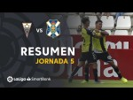 Resumen de Albacete BP vs CD Tenerife (0-4)
