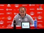 Rueda de prensa de  Eloy Jiménez tras el CD Lugo vs CF Fuenlabrada (2-0)