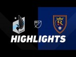 Minnesota United FC vs. Real Salt Lake | HIGHLIGHTS - September 15, 2019