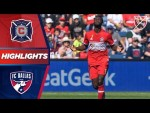 Chicago Fire 4 - 2 FC Dallas | Two for CJ Sapong! | HIGHLIGHTS