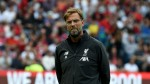 We're champs but not favoured vs. Napoli - Klopp