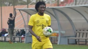 Hearts of Oak eye shock move for Songne Yacouba