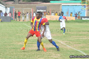 Homowo Cup: Hearts to face Olympics on October 6