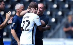Andre's a high-profile player at Swansea City - Manager Steven Cooper