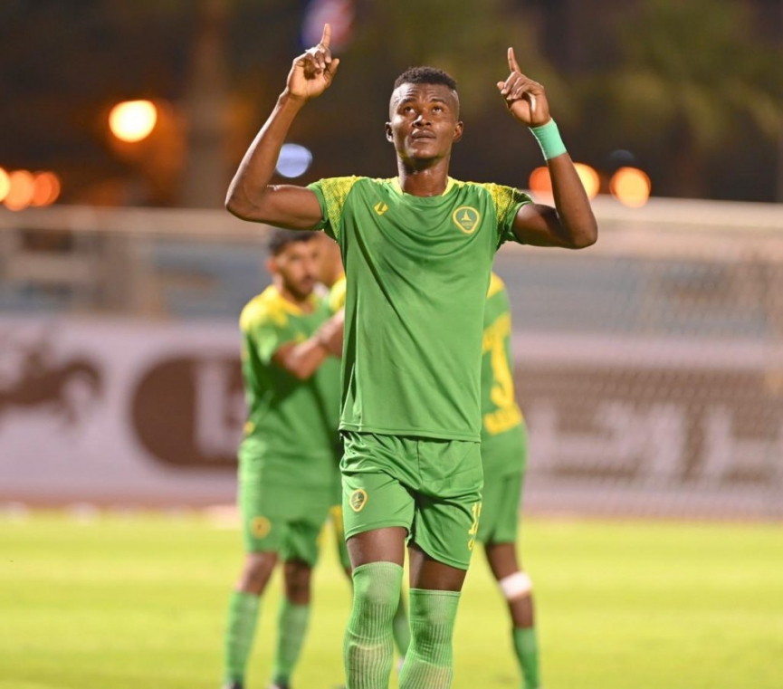 Ghanaian defender Samuel Sarfo on target again as Al Khaleej defeat Al Nojoom