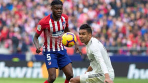 Ghanaian midfielder Thomas Partey & Casemiro key for Madrid Derby rivals