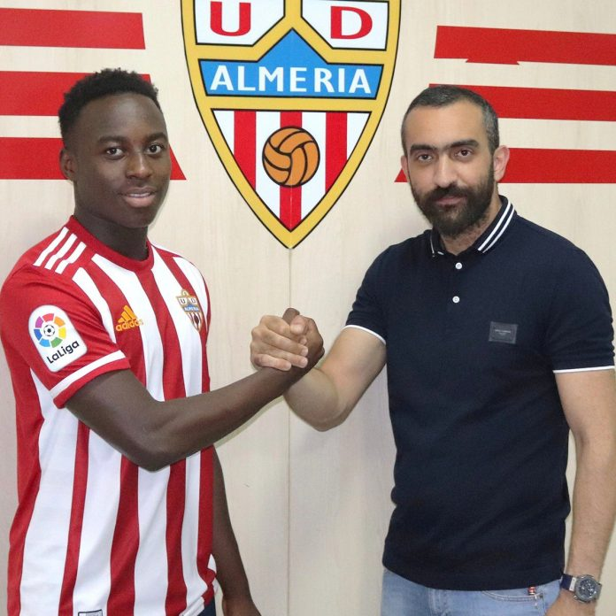 Almeria to register Ghanaian prodigy Arvin Appiah with B team this season