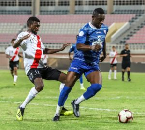 Vincent Atinga plays 90 minutes for Al Shabab in 5-3 defeat to Al Salmiya