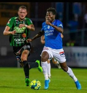 Debut delight as Abdul Fatawu scores first goal for Trelleborgs FF in win over Vasteraas BK