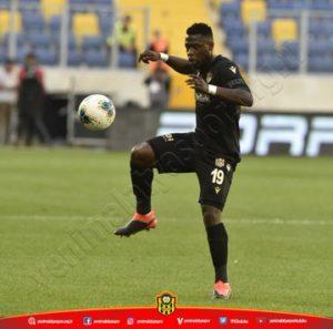 Yeni Malatyaspor applauds Afriyie Acquah's performance in 4-0 win over Ankaragucu