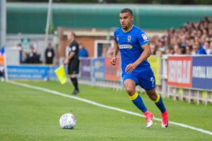Ghanaian striker Kwesi Appiah under pressure ahead of AFC Wimbledon clash against MK Dons