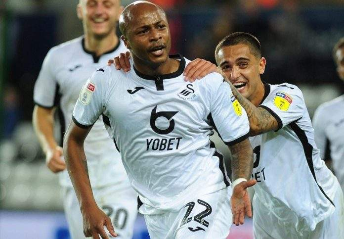 Swansea city defender Joe Rodon pleased with Dede Ayew's decision to stay at club