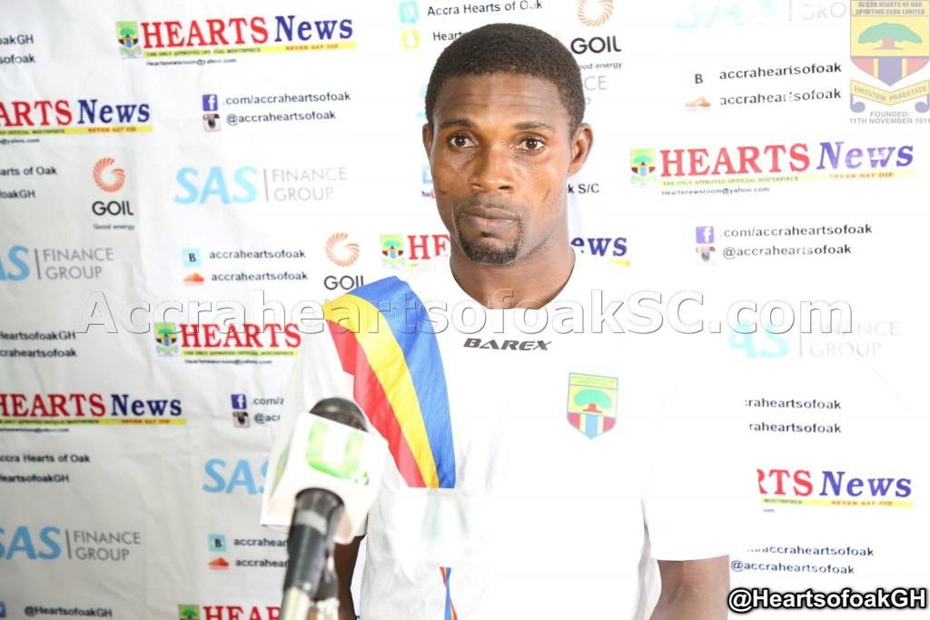 Hearts goalkeeper Ben Mensah set for coaching course