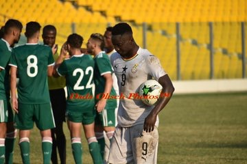 CAF U-23 qualifier: Anderlecht striker Dauda Mohammed disappointed with Ghana's draw against Algeria