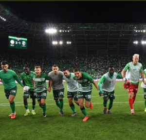 Ghanaian defender Abraham Frimpong features in Ferencvaros' draw against Espanyol in UEL