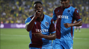 VIDEO: Caleb Ekuban on the score sheet for Trabzonspor versus Goztepe