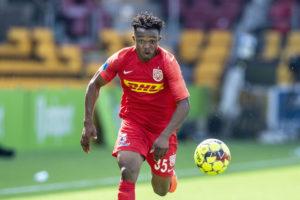 Isaac Atanga scores as Nordsjaelland suffer 4-2 defeat to Brøndby