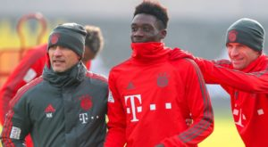 Bayern Munich winger Alphonso Davies born in a Ghanaian refugee camp