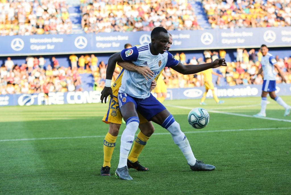 VIDEO: Watch highlight of Raphael Dwamena's first competitive goal for Real Zaragoza