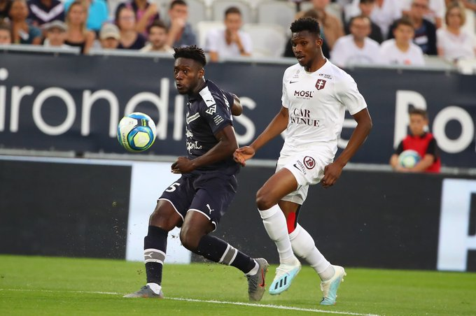 Ghanaian youngster Enock Kwateng elated with Bordeaux's win over FC Metz