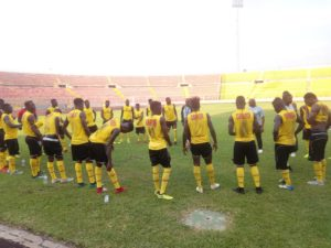 Bel~aqua Ghana donate to Black Stars B ahead of CHAN qualifier game against Burkina Faso