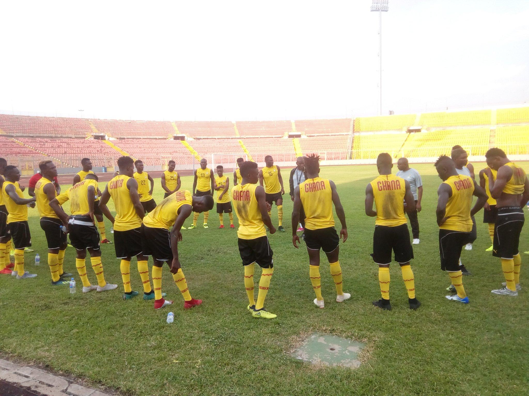 Bel~aqua Ghana donate to Black Stars B ahead of CHAN qualifier game against Burkina Faso