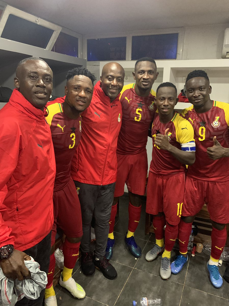 Former Ghana international Augustine Arhinful pleased with Black Meteors historic Afcon qualification