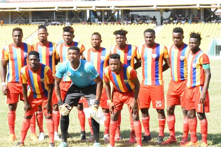 Club Friendly: Okwahu Untied suffer 2-1 defeat at home to Hearts of Oak