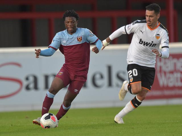 Ghanaian youngster Appiah-Forson shines as West Ham U-23 defeat Valencia