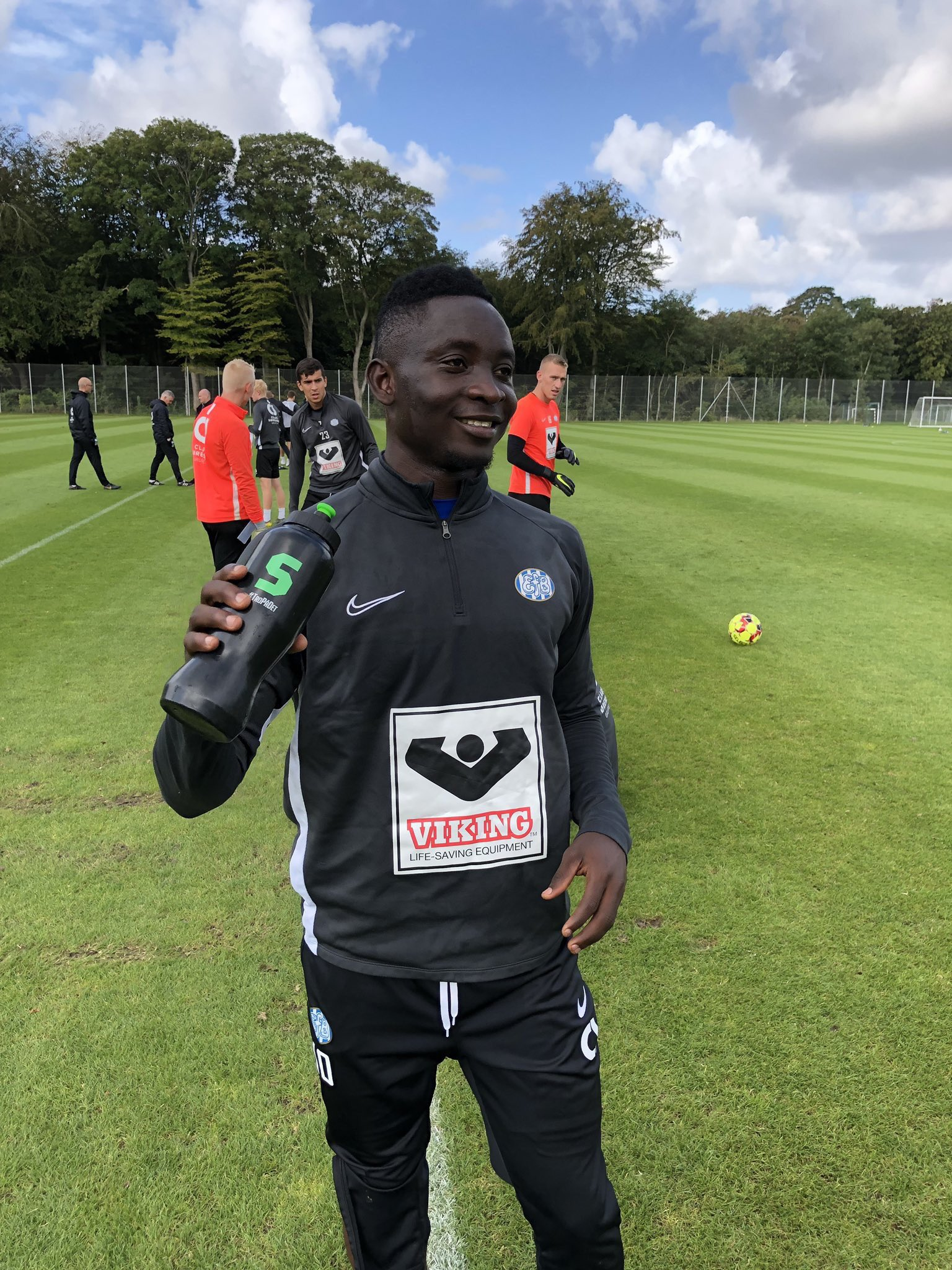 Dauda Mohammed joins teammates after Meteors Duties