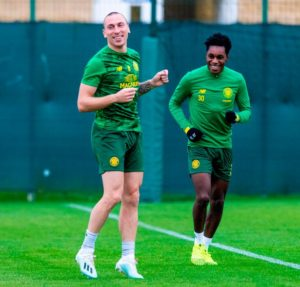 Injury boost as Ghana and Celtic defender Jeremie Frimpong resumes full training