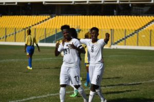 Watch Juliet Acheampong's thunderbolt strike for Black Queens in their 2-0 over Gabon (VIDE0)