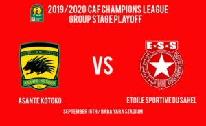 CAF CL: Kjetil Zachariassen names strong Kotoko line up to face Etoile; Anan in post as George Abege lead the lines