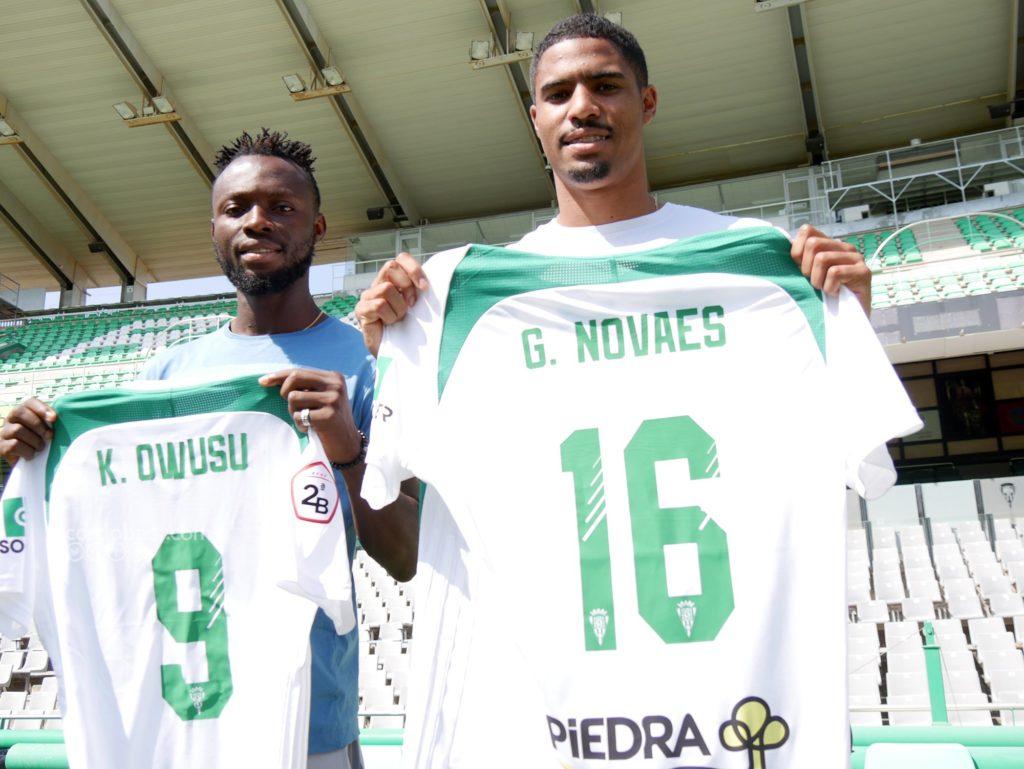 PHOTOS: Cordoba unveils Ghana striker Kwabena Owusu