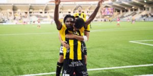 Kwame Kizito express delight after scoring first goal for BK Hacken
