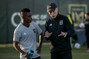 Coach Bob Bradley lauds Latif Blessing's contribution to LAFC's attack
