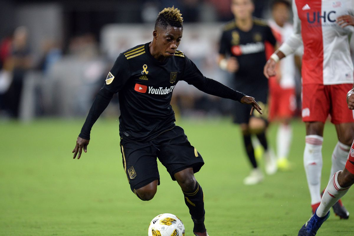 Latif Blessing named on bench of MLS team of the week