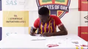 Hearts of Oak announce the signing of Emmanuel Mintah [VIDEO]