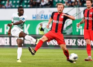 Ghanaian youngster Hans Nunoo Sarpei happy with Greuther Furth's comeback win over Wehen Wiesbaden