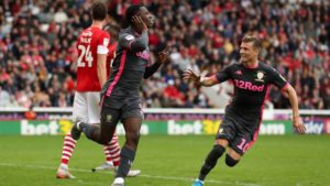 Eddie Nketia climbs off the bench to inspire Leeds Utd to victory against Barnsley