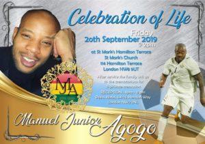 Ex-Ghanaian striker Junior Agogo to be buried on Sept 20
